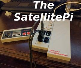 SatellitePi - Raspberry Pi Zero in an NES Satellite