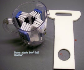 HOME MADE GOLF BALL WASHER FOR $10.00