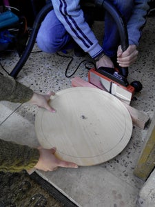 Step 4: Making the Disks for the Conical Frustum