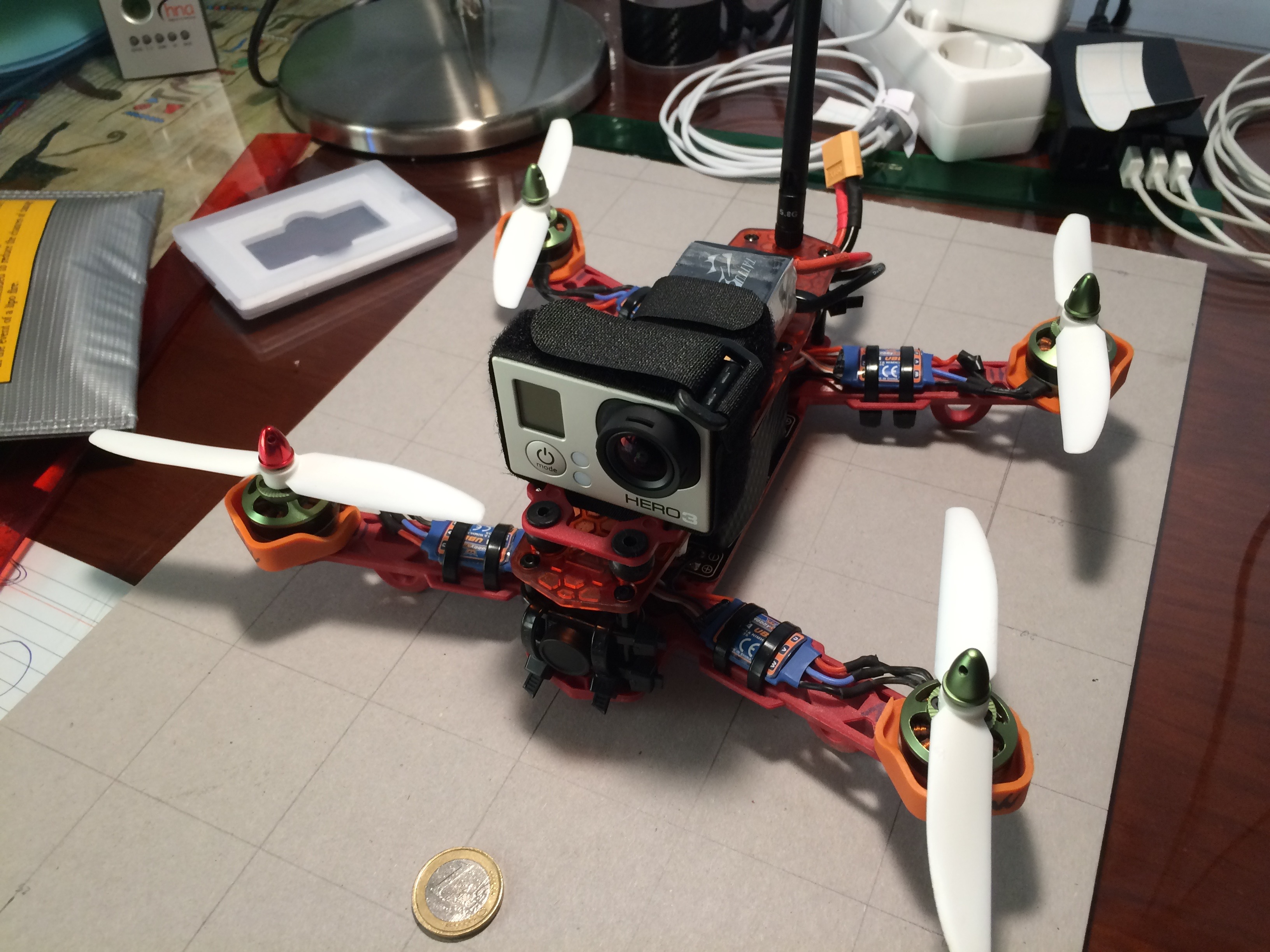 Picture of Easy to Build 250 Quadcopter Drone.