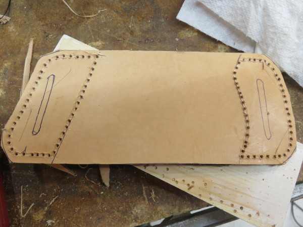 Picture of Stitching the Holster