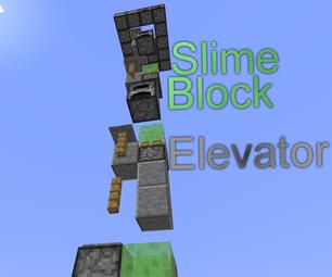 Minecraft: Slime Block Elevator
