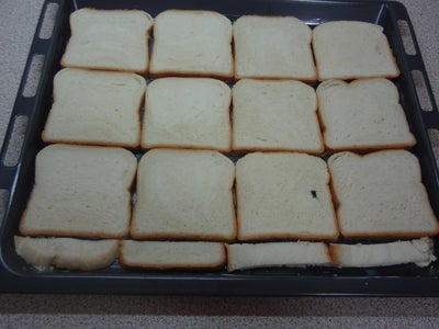Place the Bread