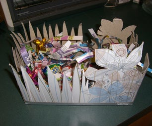 Make an Easter Basket From Materials Found in the Recycle Bin