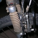 Clean and classy Bike speedometer installation