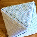Octahedron Model DYI Using Graphing Papers