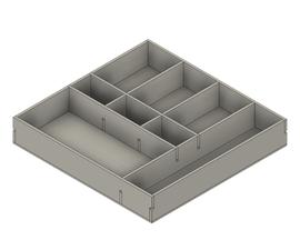 Desk Drawer Divider in Fusion 360