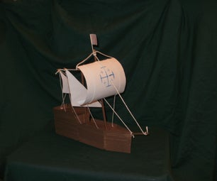 How to Build a Wooden Popsicle Stick Ship