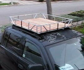 No Weld Truck Roof Rack