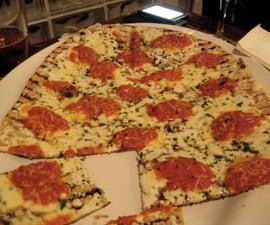 Margarita Grilled Pizza