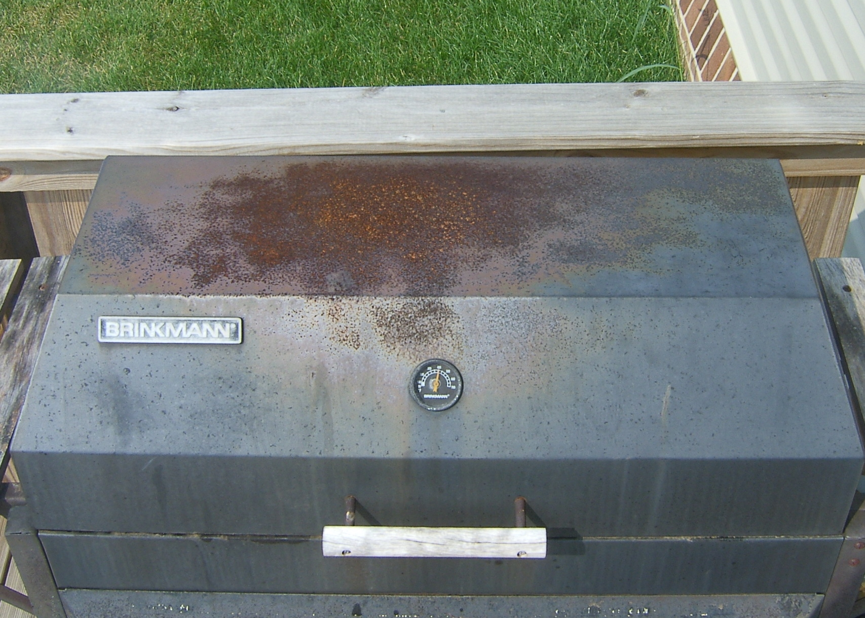 Picture of Gas Grill Renovation