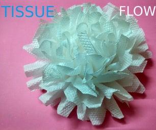 SIMPLE TISSUE FLOWER
