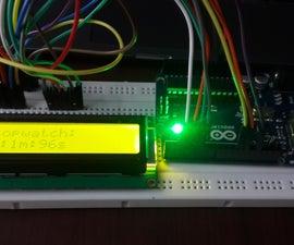 Simple Arduino Stopwatch