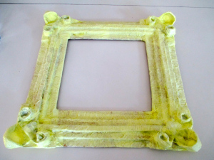 Picture of Cover Frame Completely in Party Streamers.