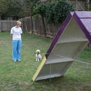 DIY Dog Agility A-Frame