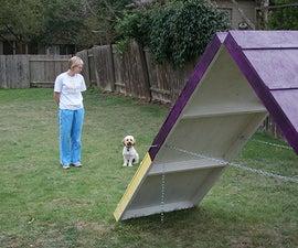 DIY Dog Agility A-Frame