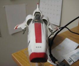 LED-Lit BSG Viper Mk. II Model Build