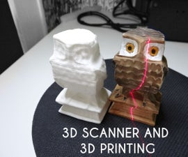 Cheap 3D scanner