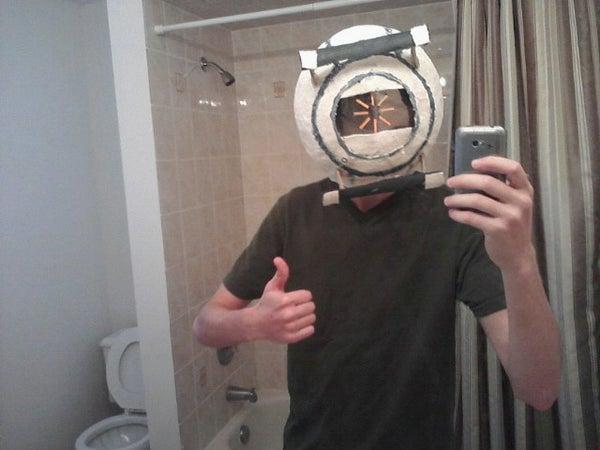 Portal 2 Space Personality Core Helmet / Mask
