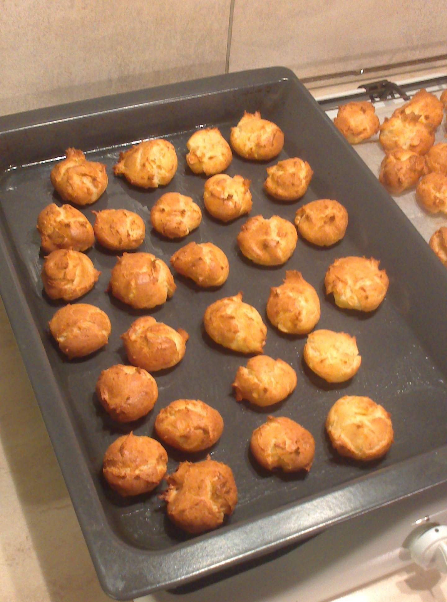 Picture of How to Make French Cheese Gougères