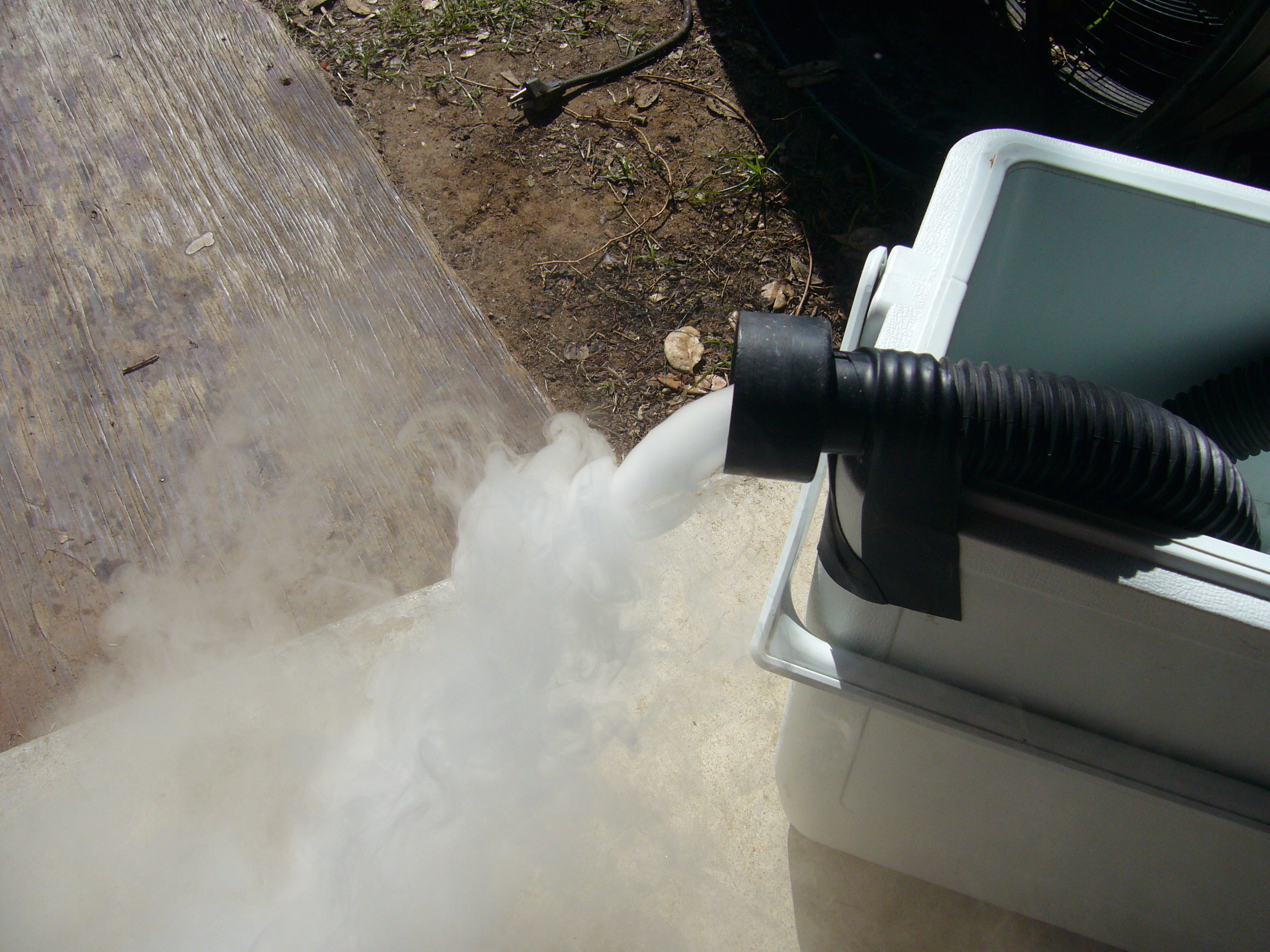 Picture of Fog Chiller How Not to :second (more Successful) Attempt