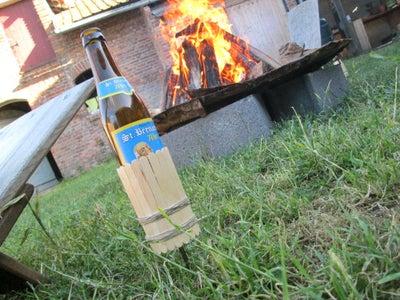 Bonfire Beer Bottle Holder