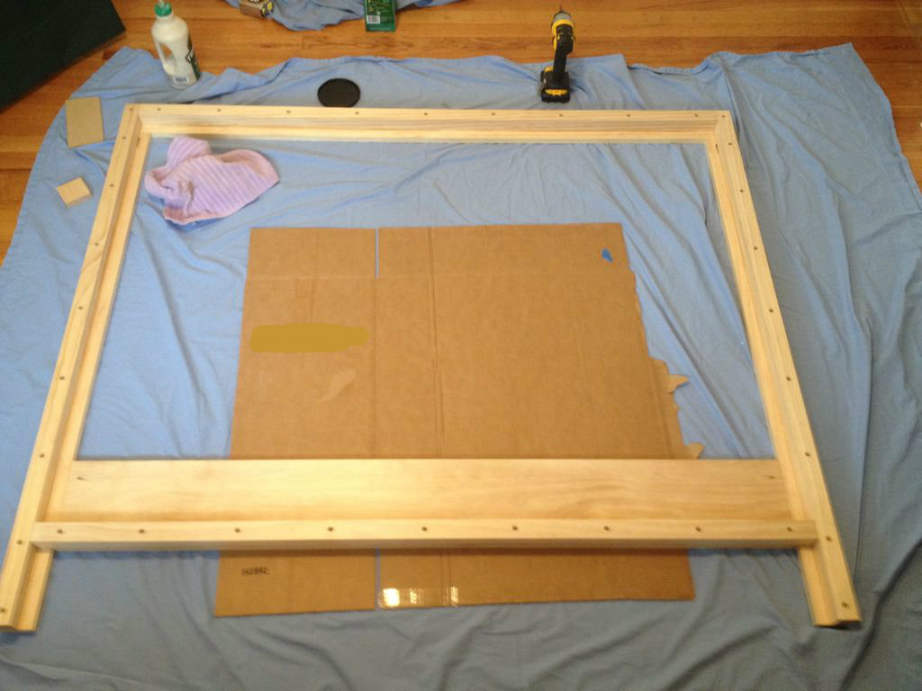 Picture of Headboard Frame