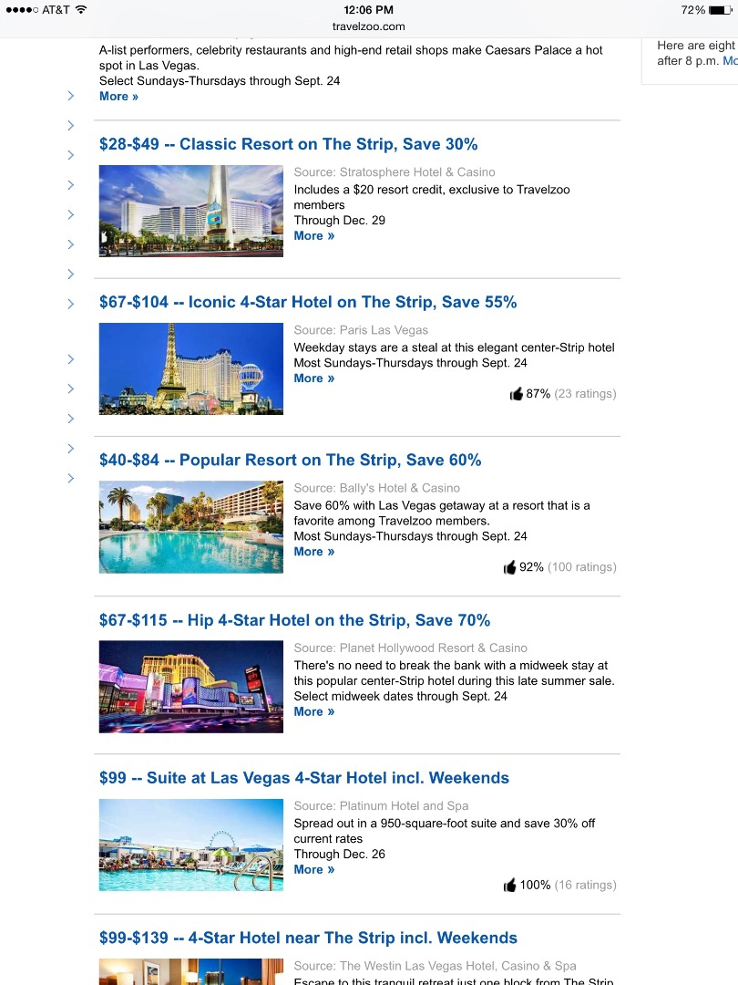 Picture of Travelzoo.com
