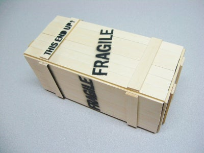 Bonus Feature! the Shipping Crate