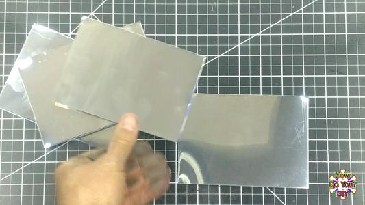 Cutting the Aluminum Mirrors