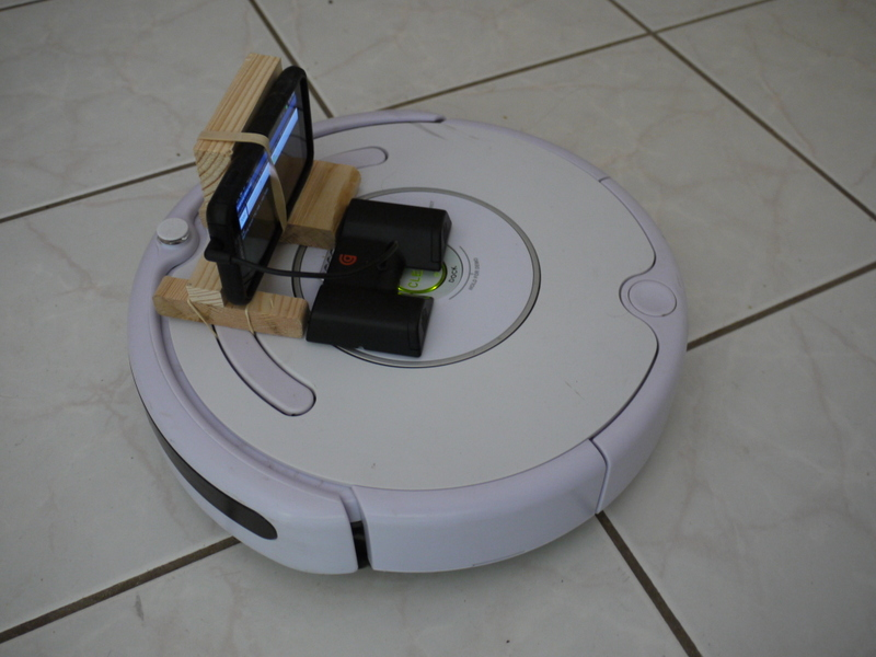 Picture of First-person WiFi Driving of Roombas and Other Infrared RC Vehicles