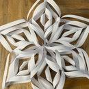 DIY Giant Origami Christmas Snowflake ❄️