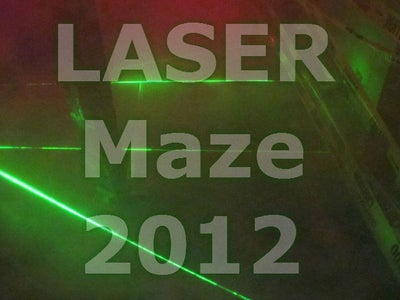 LASER Maze 2012 - Halloween Haunted House