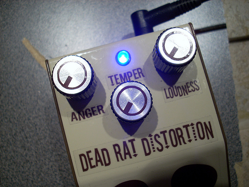 Picture of DIY Rat Clone Distortion Guitar Effect Pedal - the Dead RAT