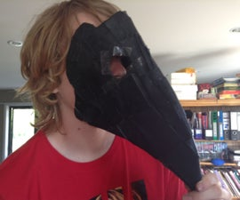 How to Make a Plague Doctor Mask