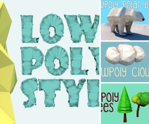 LowPoly - Cinema 4D