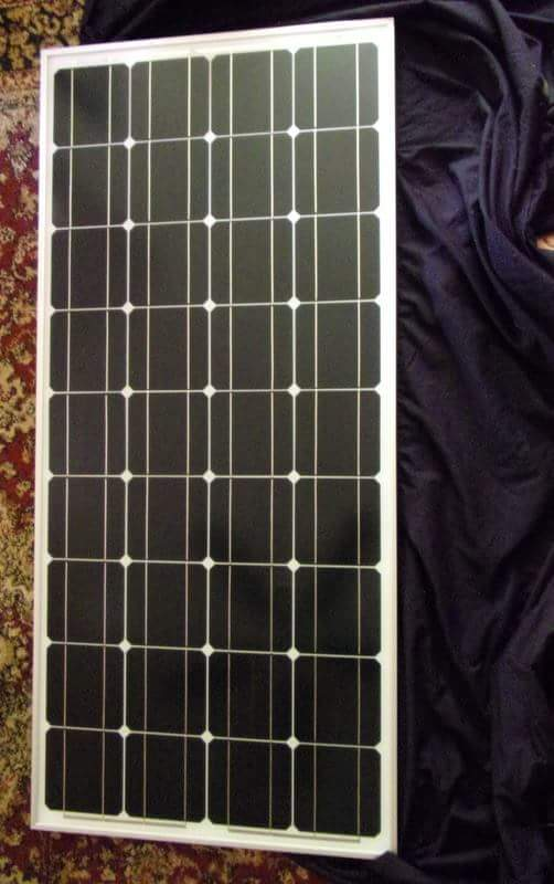 Picture of Solar Setup Materials