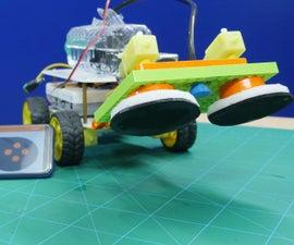 DIY Floor Cleaning Robot Using Arduino