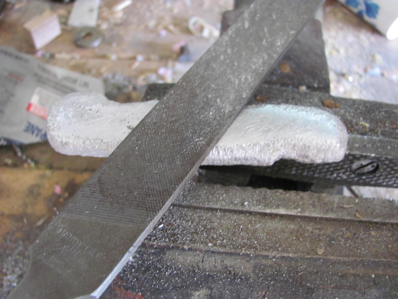 Picture of Smoothing and Polishing Aluminium