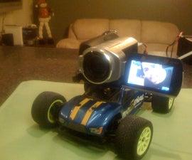 Camara de Video en Carro de Radio Control / Video Camera on R/C Truck