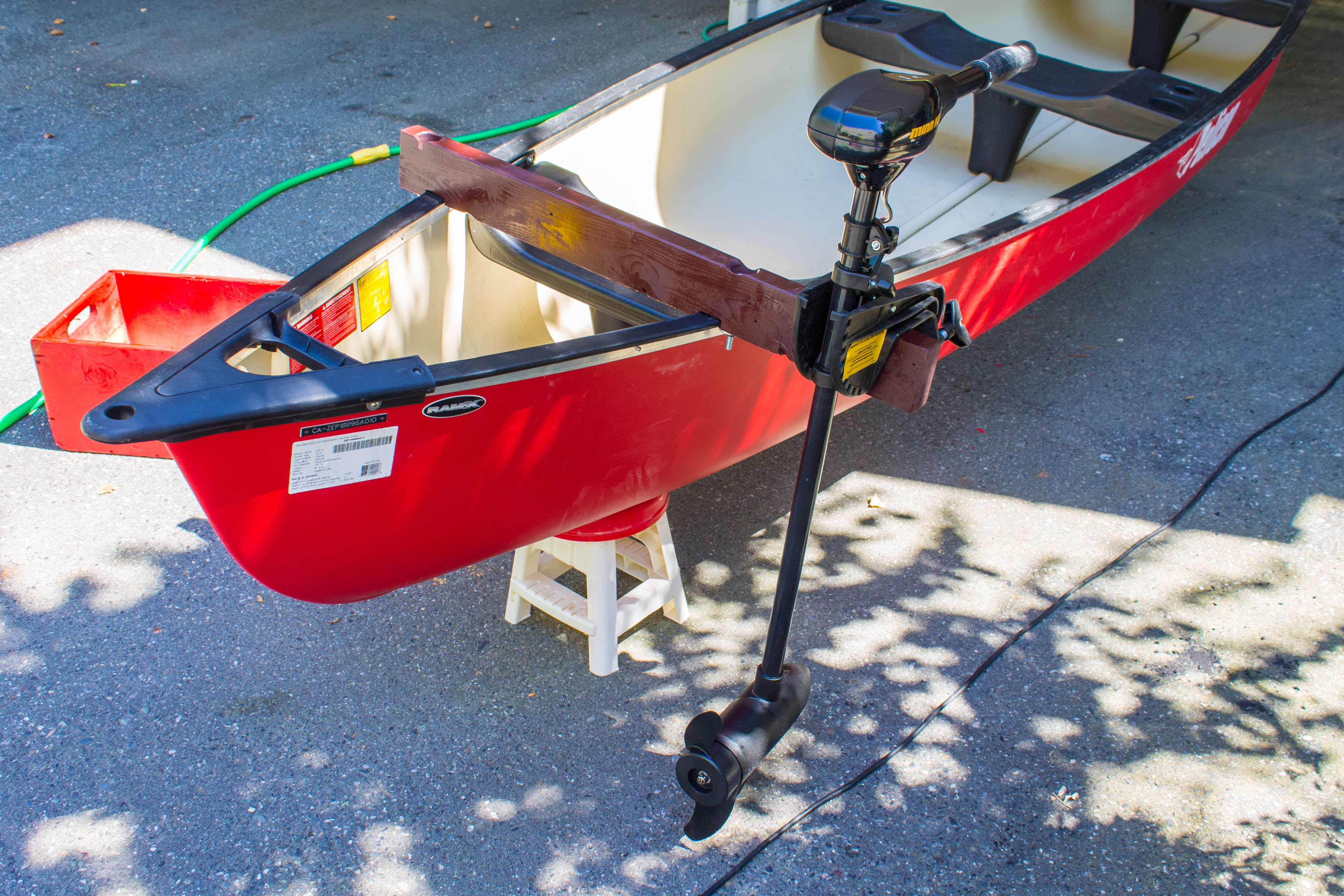 Picture of Electric Trolling Motor Canoe