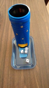 Dice Tower From Scrap