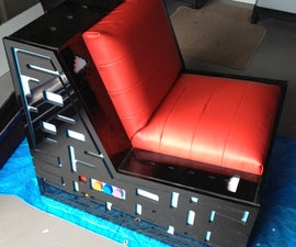 Ultimate Pacman / Space invaders Gaming Chair with speakers