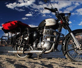 Motorcycle Luggage side-carrier
