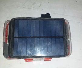 Qi Enabled Power Bank with Solar and Dynamo Charging