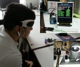Mini Arduino Portable EEG -  Brain Wave Monitor +