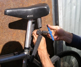 How to keep your bike seat from getting stolen.