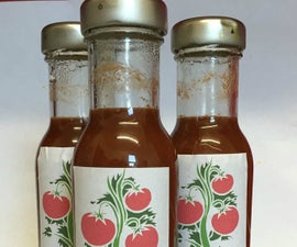 Slow Cooker Tomato Ketchup