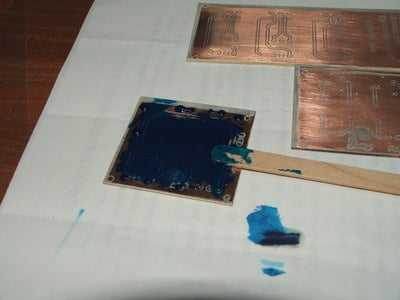 Cut and Solder Mask