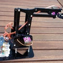 4 DOF Mechanical Arm Robot Controlled by Arduino